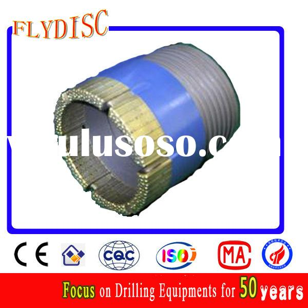 Impregnated diamond core drill bits for hard rock, core mining, coal, water well