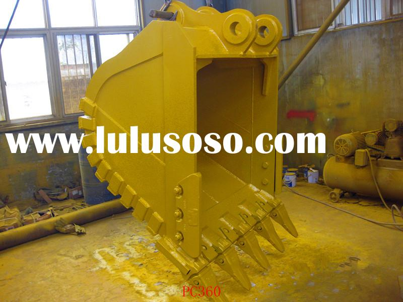 excavator bucket,rock bucket,PC360,PC200,PC300 and other models