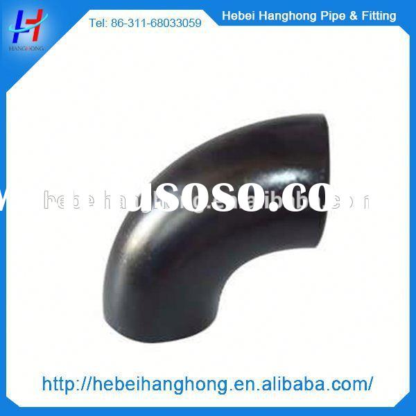 ASME B16.9 carbon steel sch 20 pipe fittings hdpe pipe fitting high quality elbow dimensions