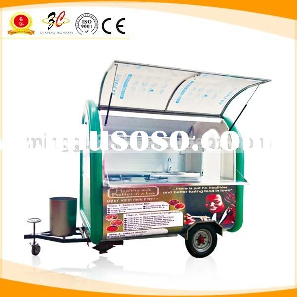 2015 Spring Festival Electric food truck , hot dog carts, fast food van for sale