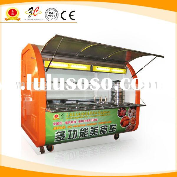 mobile kitchen trailer/mobile food truck for sale/used food trucks (CE&ISO9001 Approval,Manufact