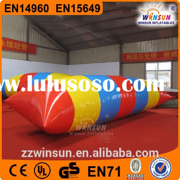 2014 hot inflatable blob water toy for sale