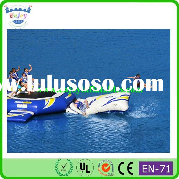 2015 Enjoy blob jump, the blob water toy price, inflatable water catapult blob
