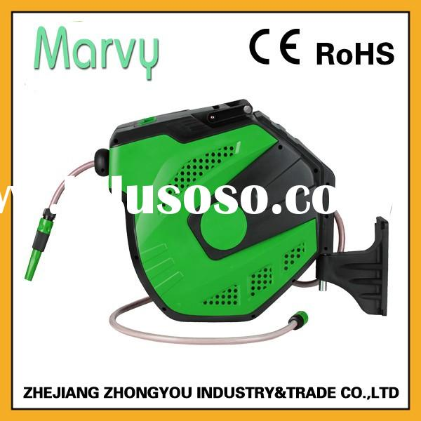 5/8 inch 52 foot pvc hose Automatic retractable spring winding water hose reel hot new product 2015