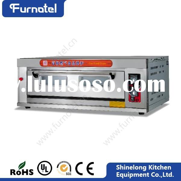 Bakery Equipment Stainless Steel 1-Layer 3-Tray Gas Baking Tools And Equipment