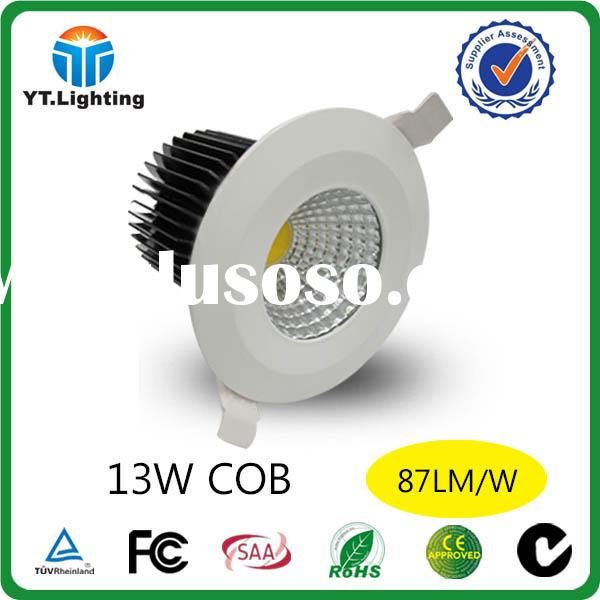 COB LED DOWNLIGHT 13W LED Dimmable Hi Output Fixed Round LED Pot Lights Dimmable SAA C-TICK CE Appro