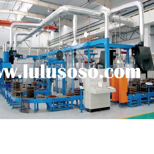 For different heat treatment procedures, temper furnace,pusher type heat treatment production line