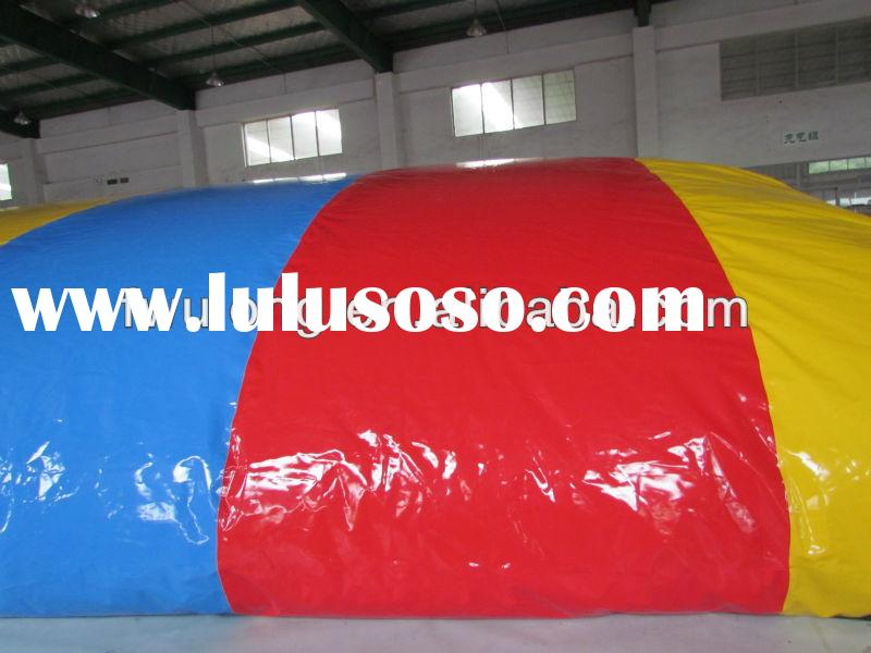 Inflatable water blob water park toys