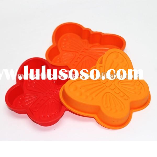 Mettor custom FDA and LFGB food grade high quality silicone wholesale butterfly shape silicone kitch