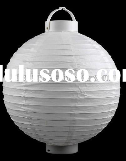 Paper Material and Folk Art Style Wedding Paper Lantern Black and White Damask Hanging Decorations