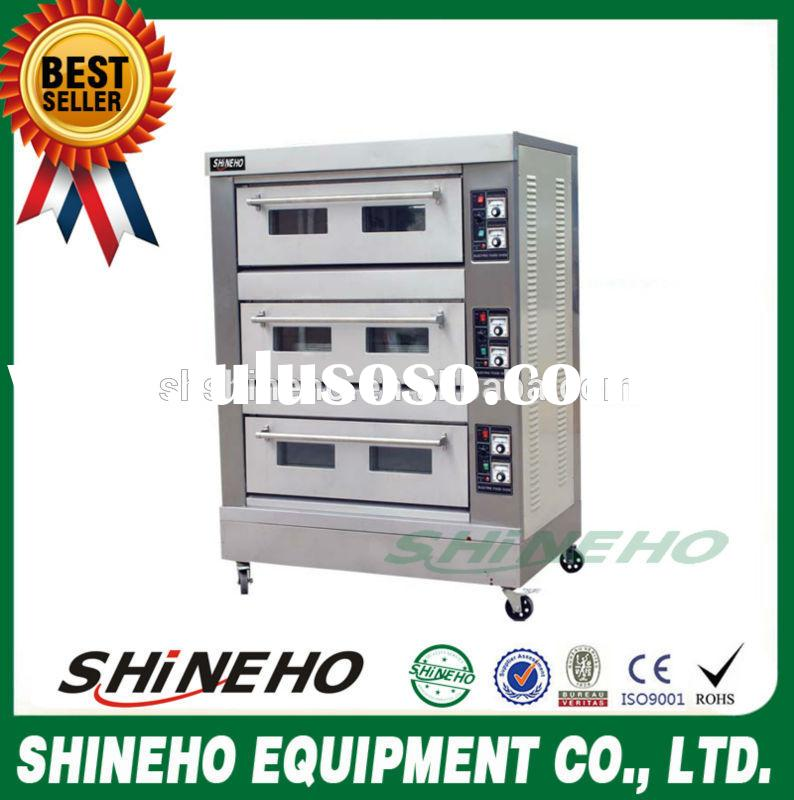 baking tools and equipment big electric deck oven