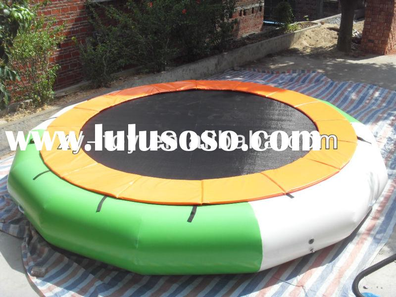 good quality inflatable water blobs trampoline,inflatable water trampoline with slide