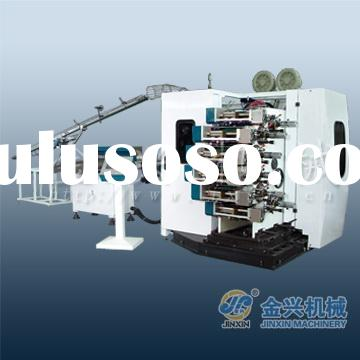 six color mini offset printing machine price for plastic cup