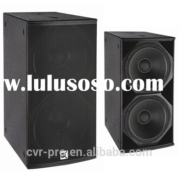18 inch subwoofers for sale dual bass box