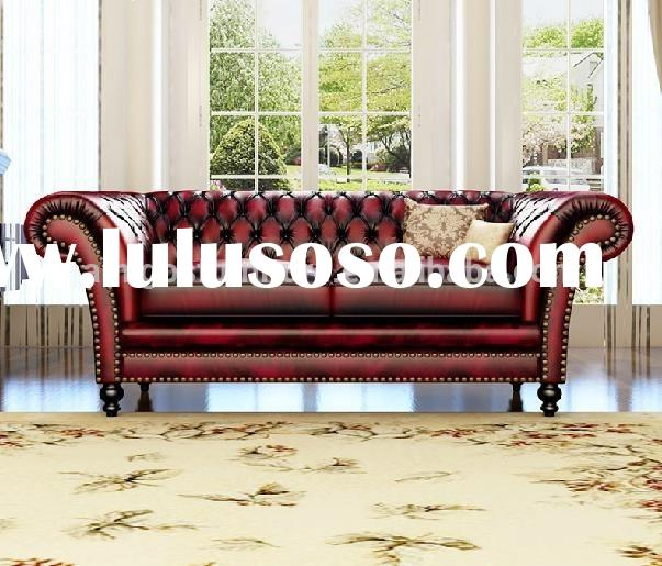 2015 Classic design Leather sofa, living room furniture sofa design, Leather sofa set designs and pr