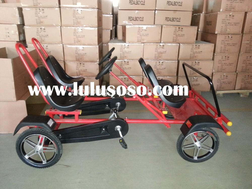 4 wheel adult pedal bike for 4 person