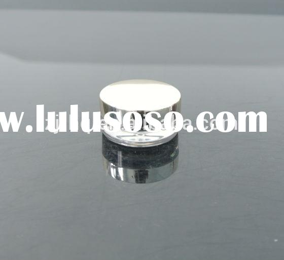 5g Small round acrylic/plastic jar (container for cosmetics) with cap , clear jar
