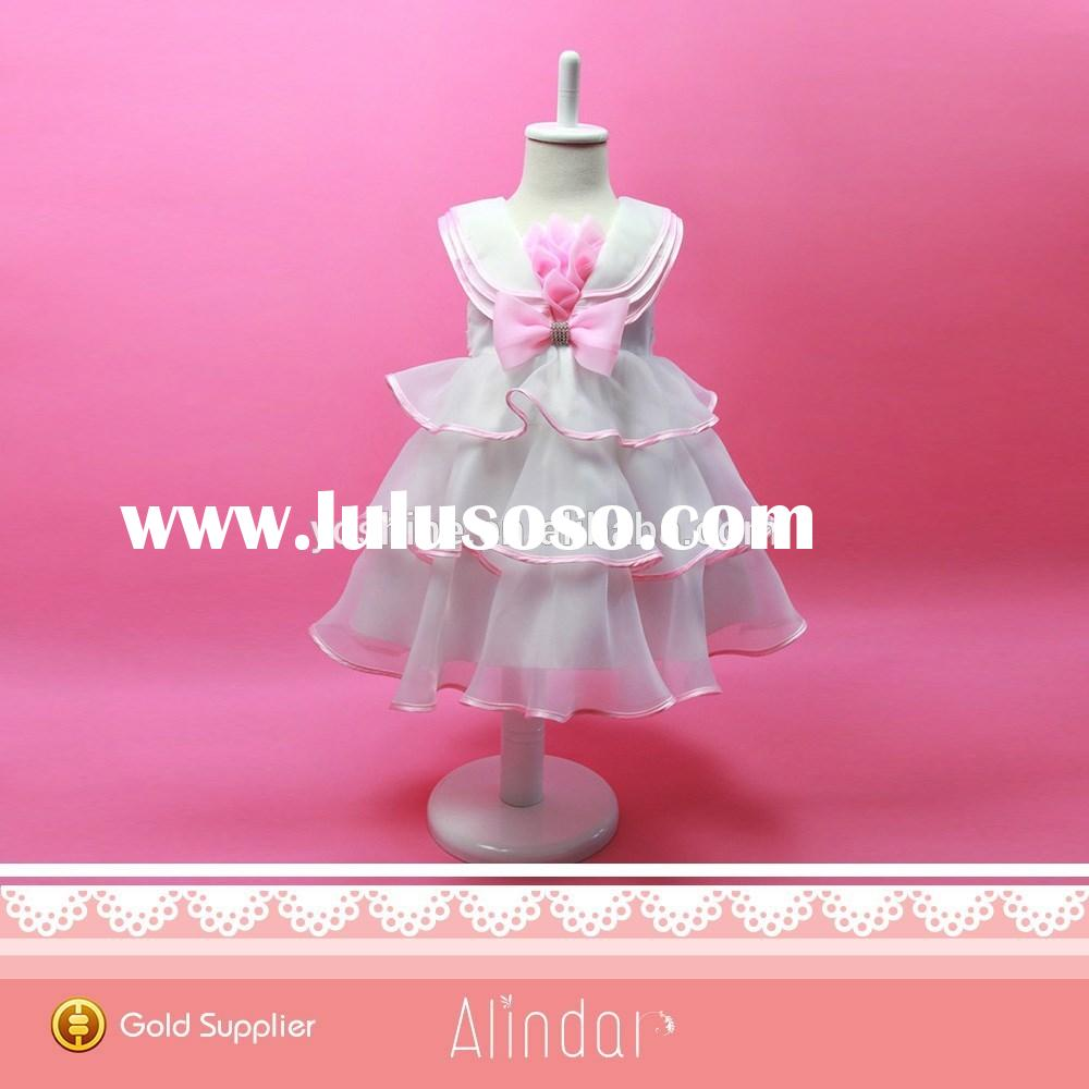 Birthday Frocks Designs For Baby Girls Beautiful First Communion Children Girl Dress 4 Years