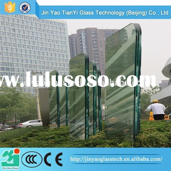 China wholesale high quality frameless glass curtain wall manufacturer
