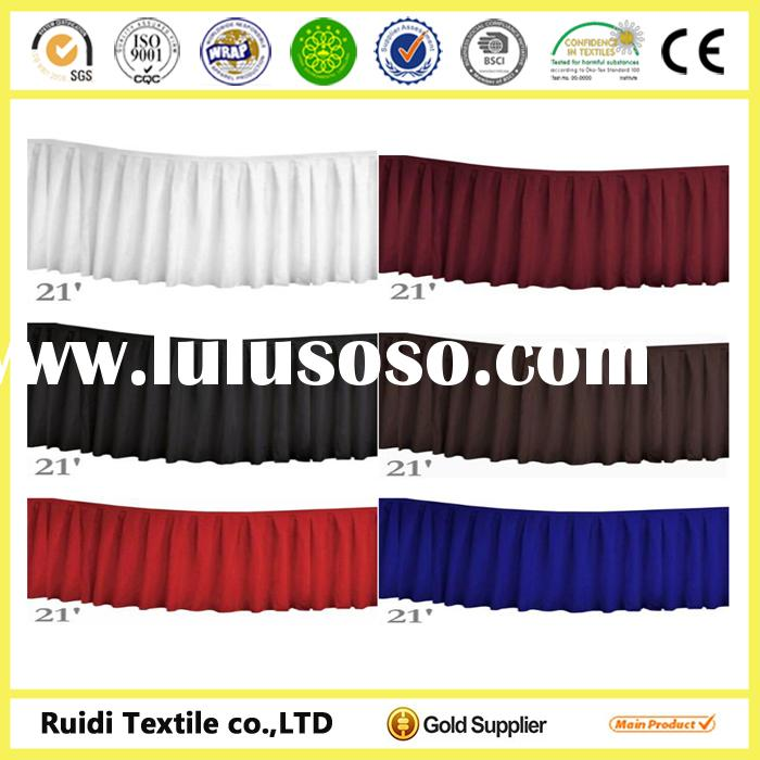 Cotton Table Skirts Advertising Common Skirting Designs