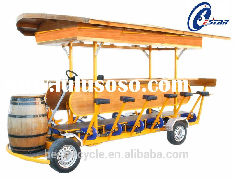 Electric Adult bicycles beer bike with 15 seat for Passenger beer bike