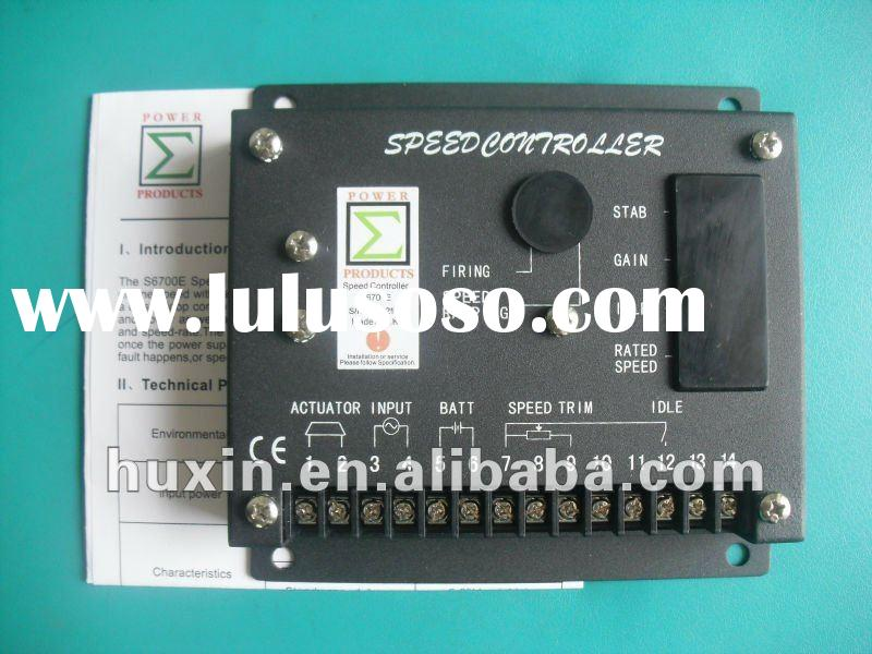Generator SKEMA SPEED GOVERNOR S6700E S6700H Speed Controler
