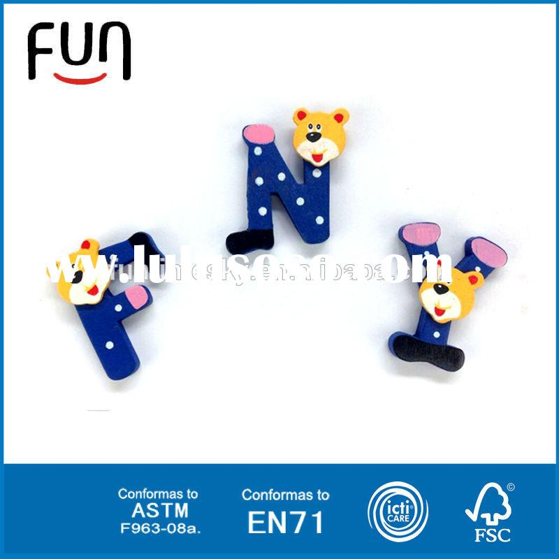 Large mdf letters with hook mdf wooden letters decorative alphabet letters AT11419