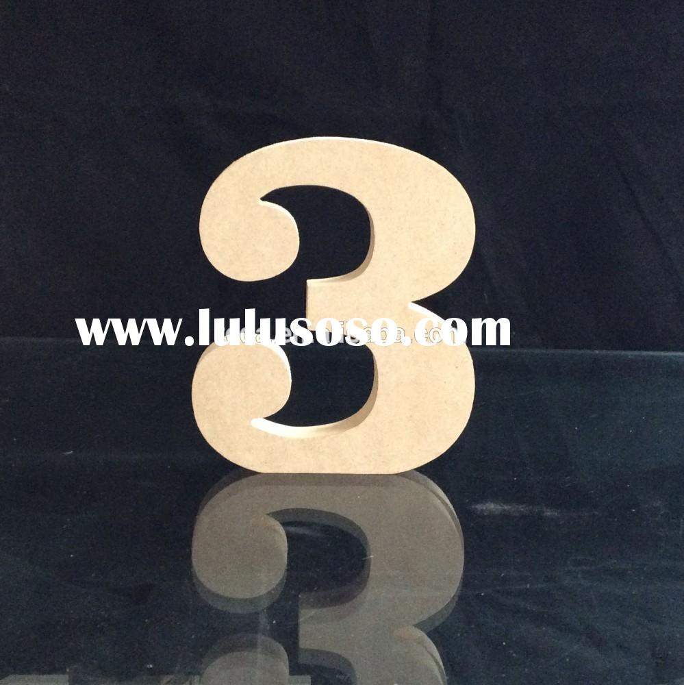 Large mdf letters wooden letters decorative alphabet letters