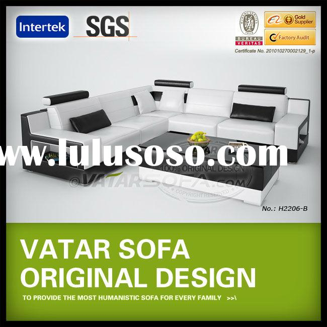 Living Room Sofa Set Designs, L Shape Sofa H2206-B