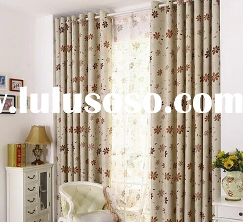New Arrival Rustic Window Curtains For living Room/ Bedroom Blackout Curtains Window Treatment /drap