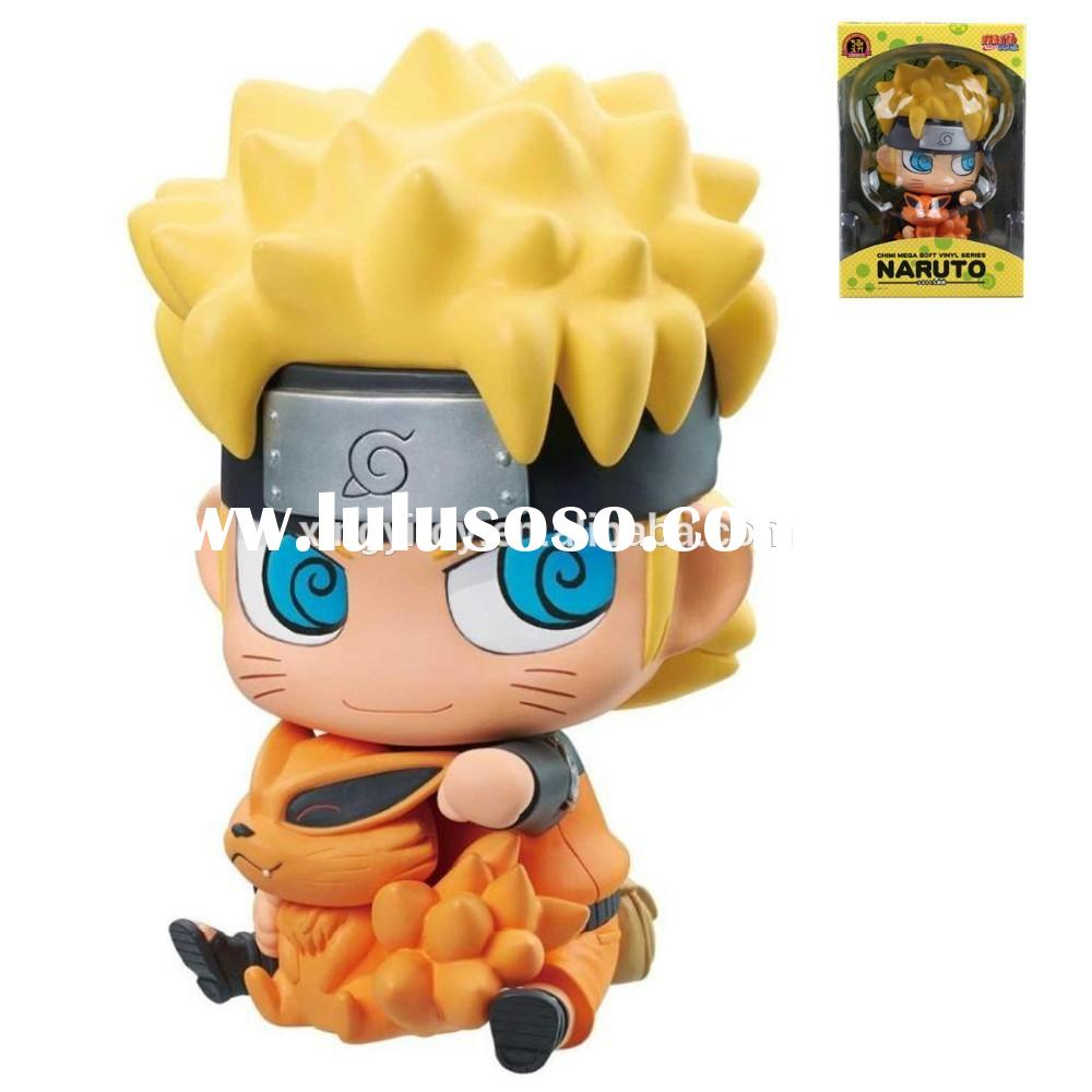 "New in Box Japanese Anime Naruto NARUTO Vinyl 18cm/7""Toy Action Figure"