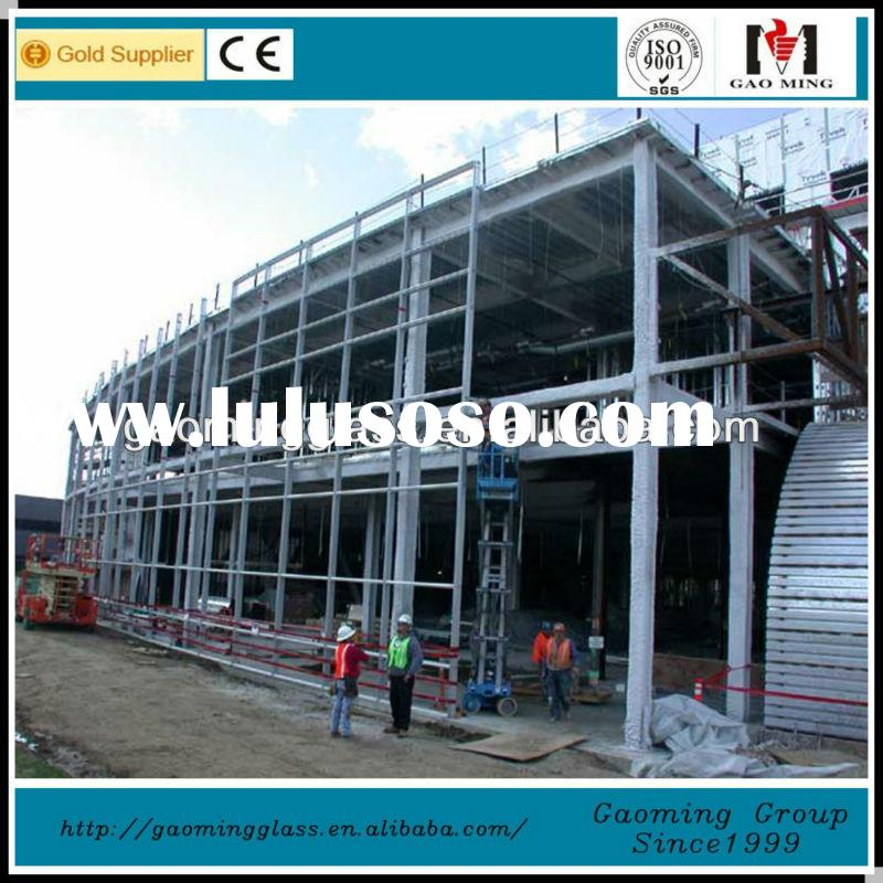 One-stop solution frameless facade curtain wall system for building with all accessories DS-LP1055