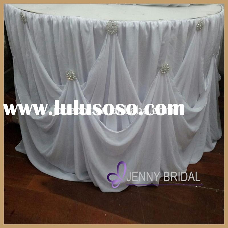 Table Skirting Designs And Procedures