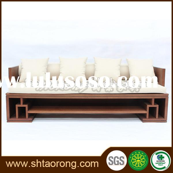 latest living room furniture wooden sofa designs and prices SO-483