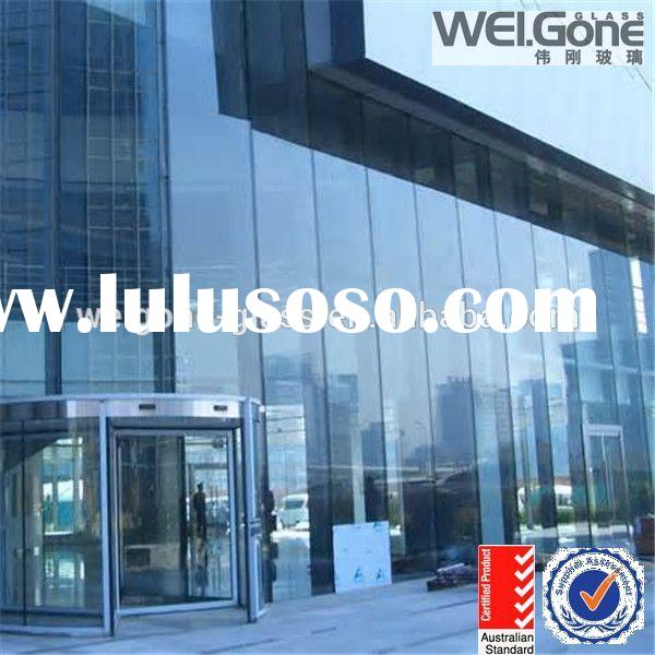 structural glass frameless glass curtain wall