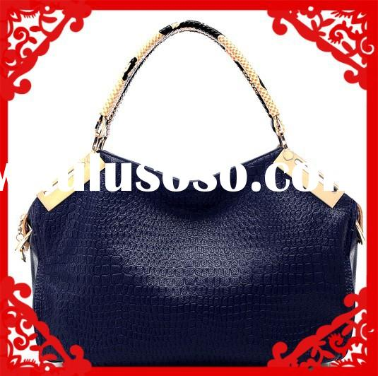 2015 ladies snake print genuine leather famous brand handbag fashion / new style fashion handbag