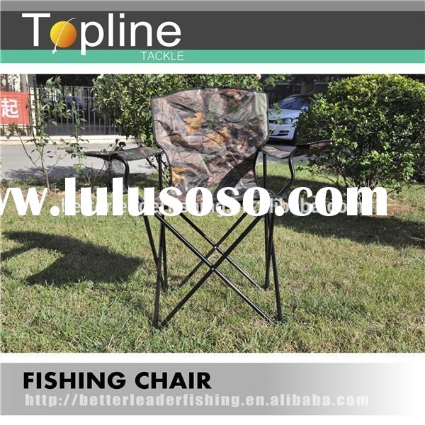 53*44*92cm OEM 100kg heavy duty metal folding portable camping chair