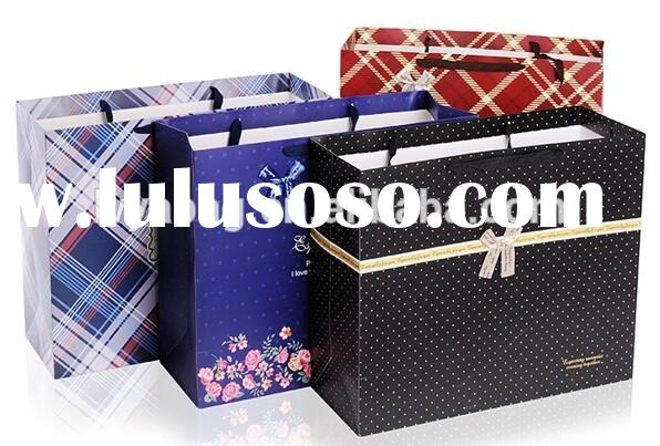 Custom luxury paper shopping bag,decorative paper bag for gift