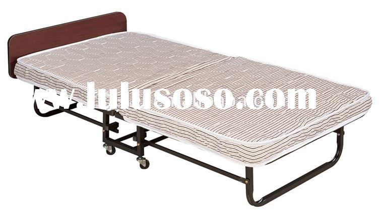 Folding Bed with Memory Foam Mattress and Strong Steel Frame