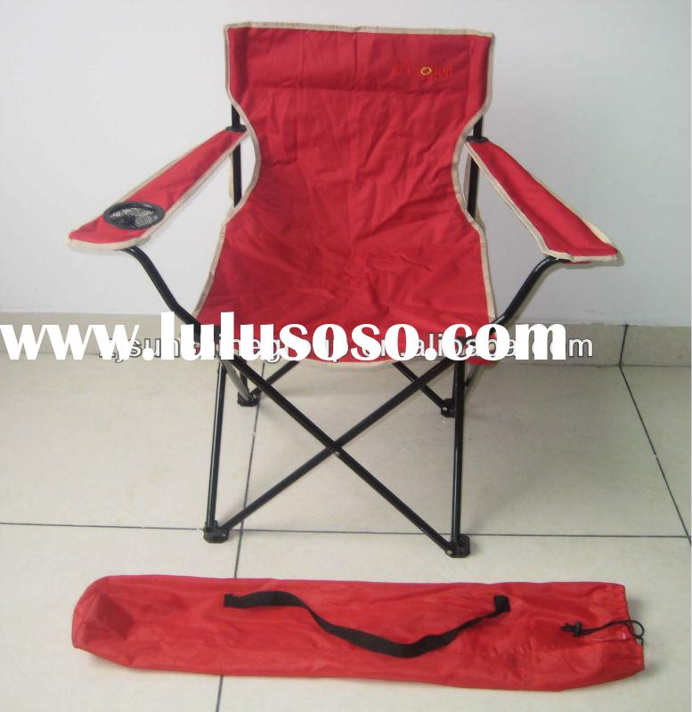 Heavy duty folding camping chairs with carrying bag, foldable tailgate chair