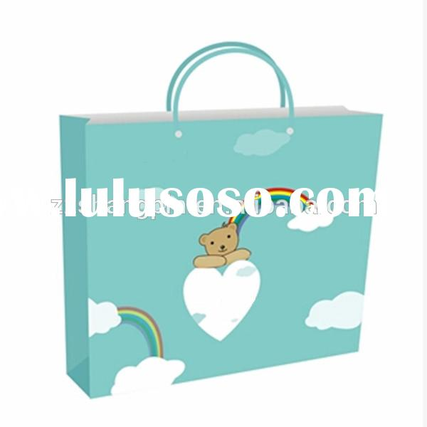 High quality custom decoration paper bag for gift