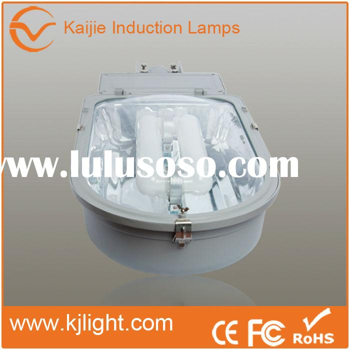 High lumens electrodeless pole street light fixtures outdoor photocell light sensor used for freeway