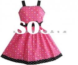 New Arrival frock design for girls with customized design prints