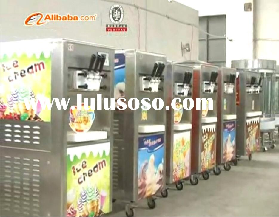 New type soft commercial ice cream machine for sale(CE ISO9001 BV))
