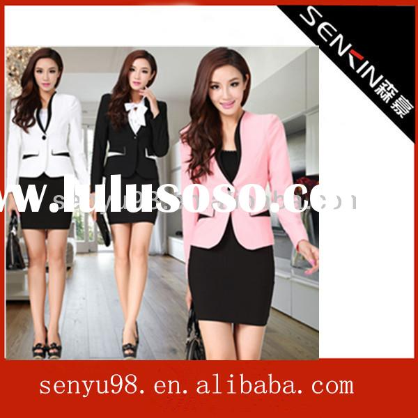 Pictures of business office uniform designs for office staff
