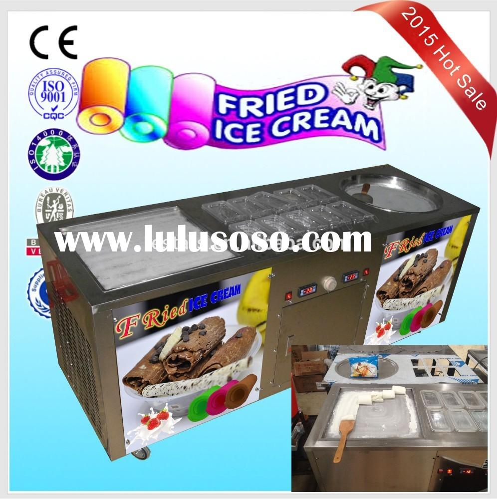 Promotion! Whole new double pan fried ice cream machine for sale factory type good price
