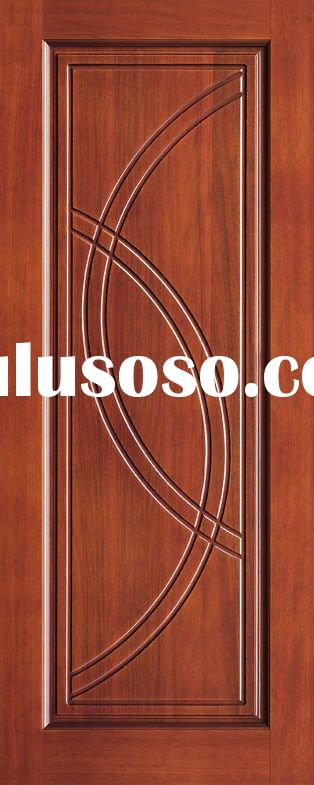 Solid core interior wood doors