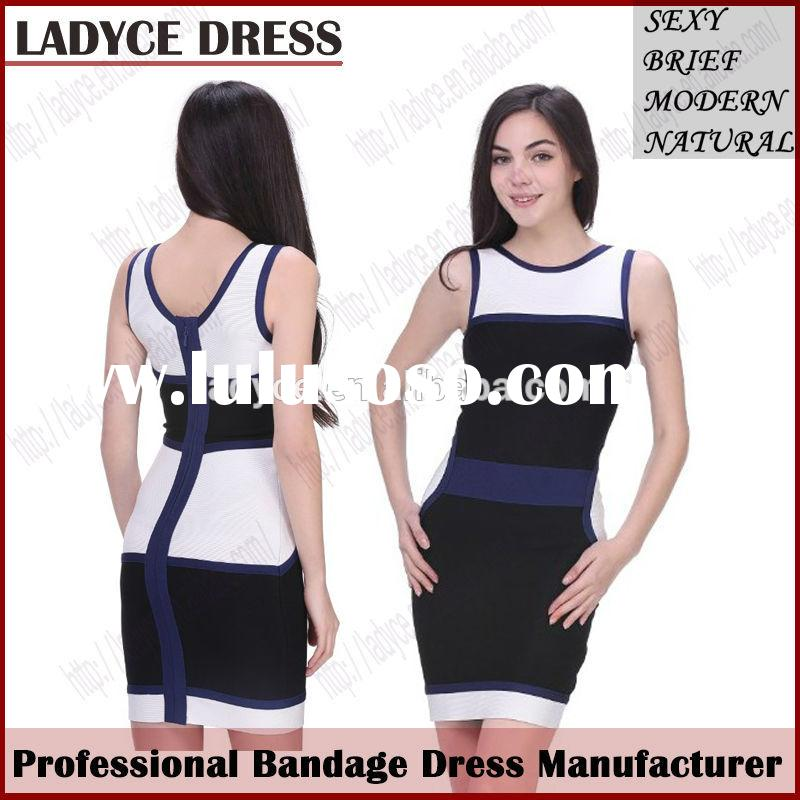 Special Formal Office Lady School Girls Summer Bangage Dress Latest Dress Patterns for Girls