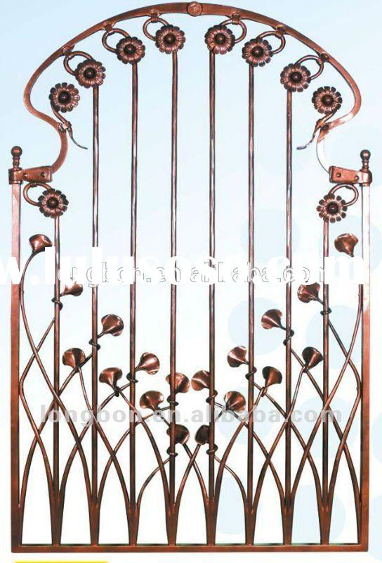 Top-selling wrought iron decorative window grill
