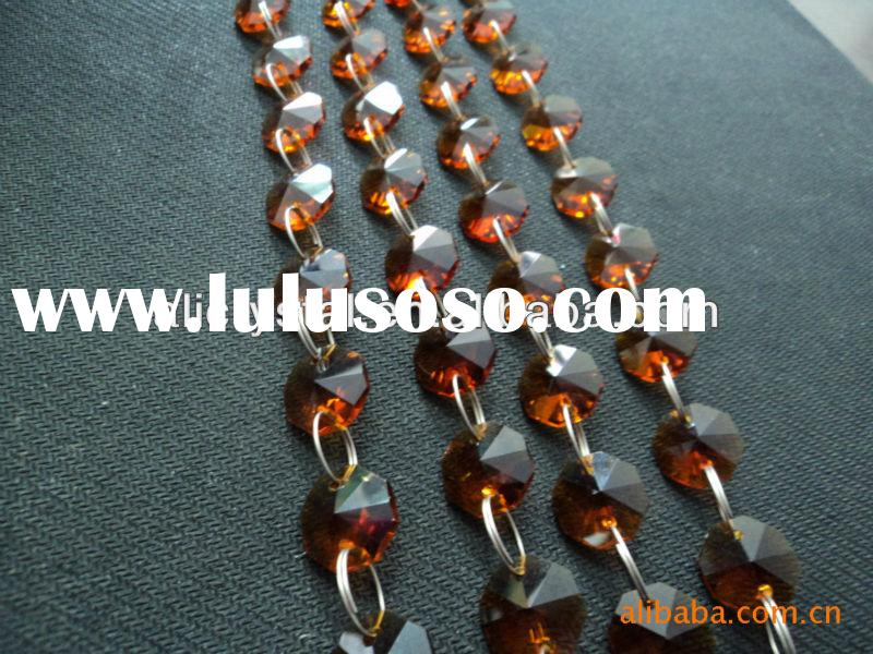 Wedding decoration crystal beads,beaded curtain for doorway